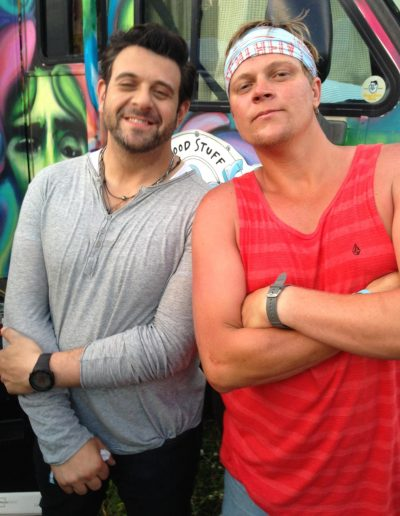 Goose and Adam Richman