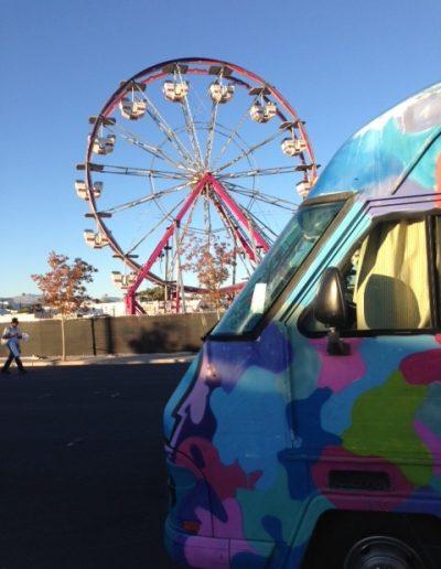 Carnival rides...
