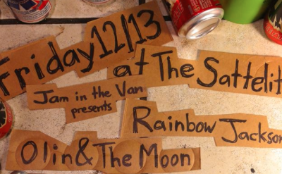 Jam in the Van Presents: OLIN AND THE MOON!