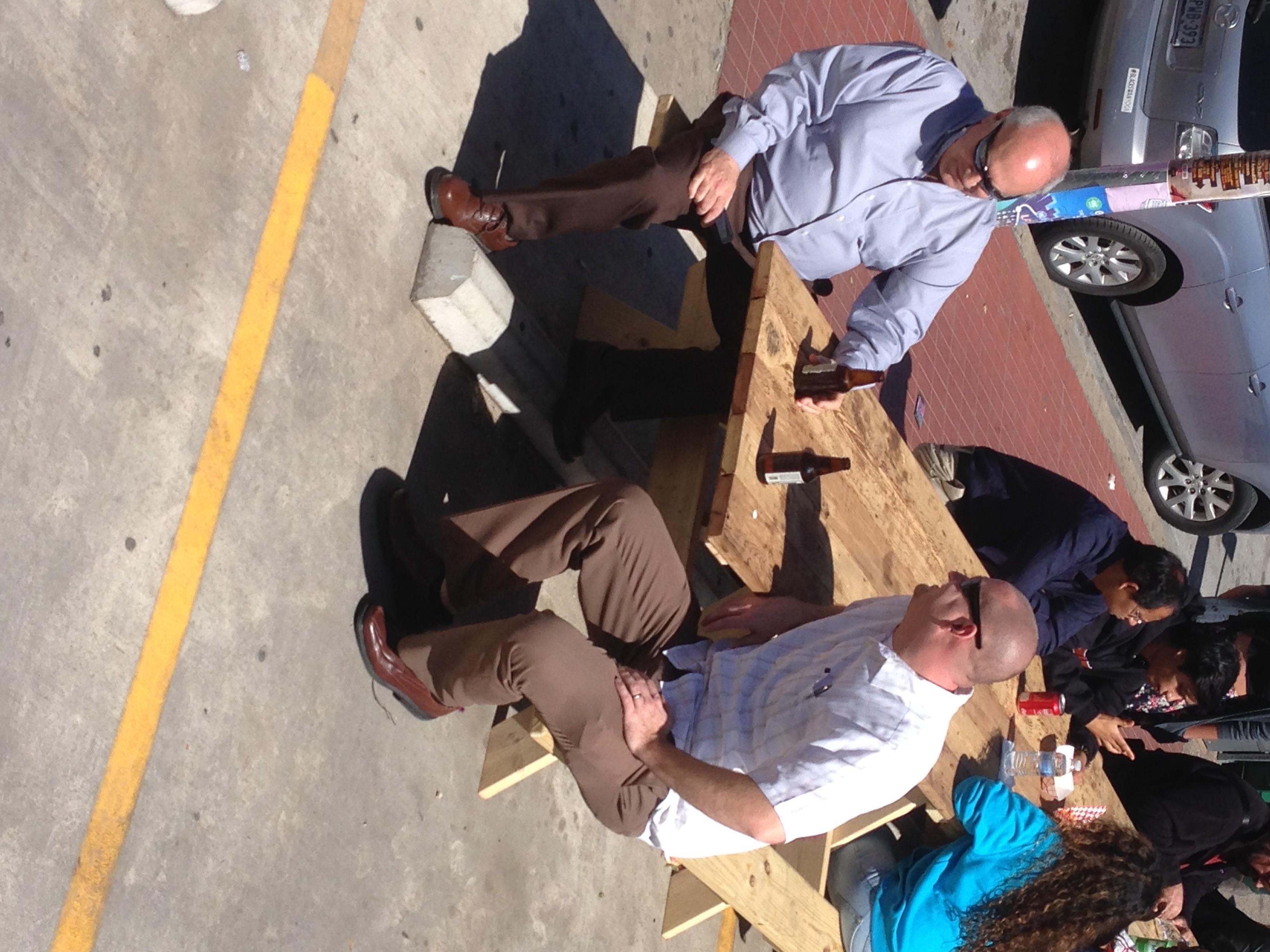 Lagunitas is so good it made these dudes love our hippie van.