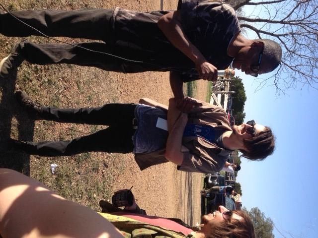 Micah Nelson meet Spud.