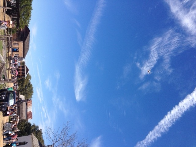 Nothin but blue skies...