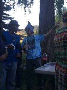Ain't no party like a Telluride party, cause a Telluride party's got this dude.