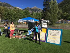 This is what a marijuana information tent looks like.