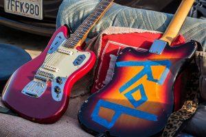 Dan's guitar.