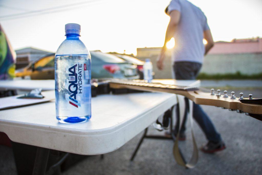 Aquahydratesunset