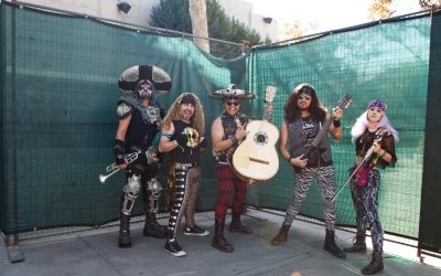 "Metalachi - ""Run to the Hills"""